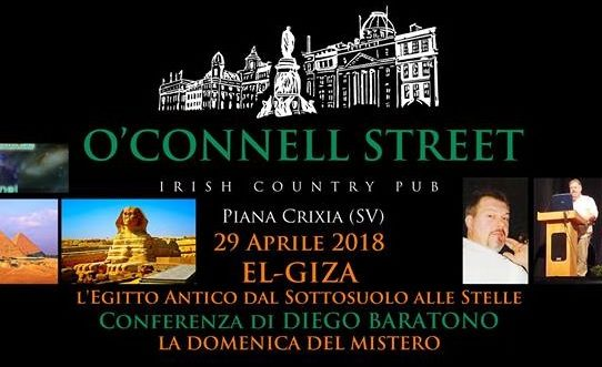 El-Giza conferenza di Diego Baratono