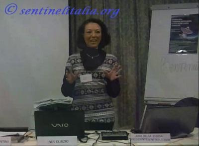 Ines Curzio convegno Sentinel 2013