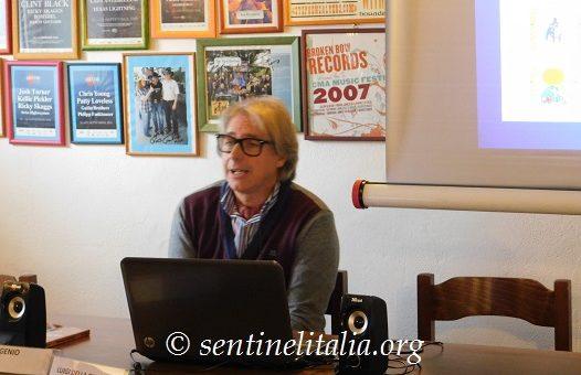 Fabrizio Manticelli convegno Sentinel 2017